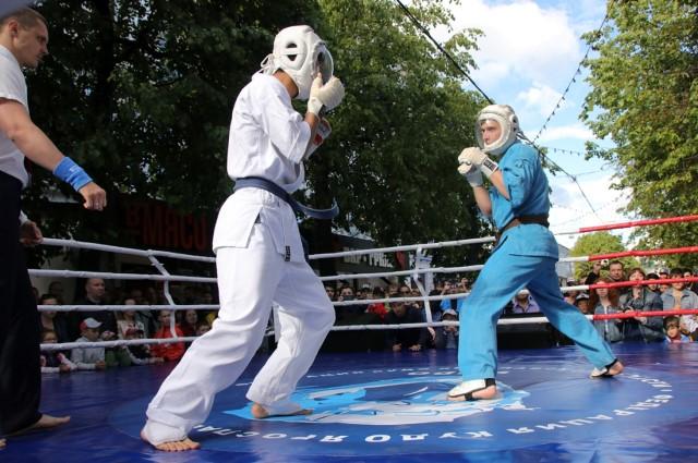 В Ярославле прошел показательный турнир «Кудо против наркотиков»