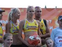 В эти выходные в Ярославле прошел этап чемпионата России по пляжному волейболу