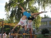 ВИДЕО: В Ярославле установлена первая площадка для воркаута в рамках губернаторского проекта «Мы выбираем спорт»
