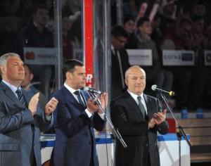 Что пожелал глава региона Дмитрий Миронов хоккеистам «Локомотива»