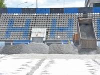 Натуральный газон с подогревом появится на стадионе «Шинник» уже к концу месяца