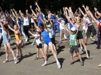 Ярославль отметил День физкультурника на Даманском острове