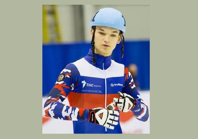 Рыбинский шортрекист выиграл забег на Кубке союза конькобежцев России