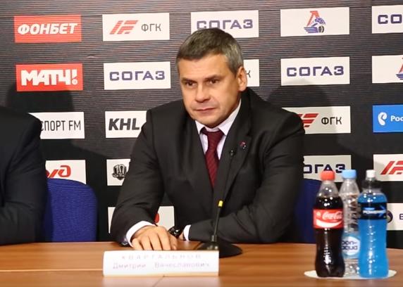 Дмитрий Квартальнов: «Возможно, мы допустили ошибку с вратарем»