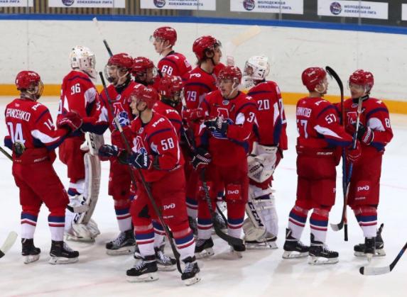 «Локо» в серии буллитов переиграл «СКА-1946» в первом матче финала Кубка Харламова