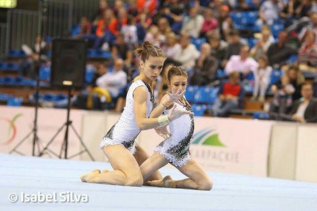 Ярославские акробатки стали победителями чемпионата мира в Антверпене