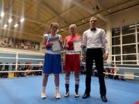 Юлия Пегашова заняла первое место на Межрегиональном турнире по боксу
