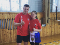 Дарья Кувакина стала победителем первенства России по кикбоксингу