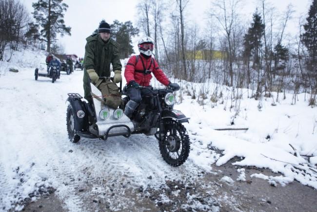 В зимнем международном мотокроссе в «Демино» приняли участие около 400 человек