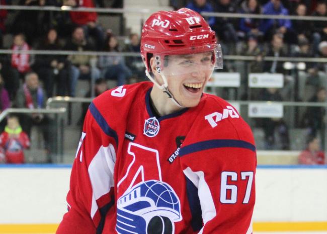 Максим Афанасьев — лучший новичок прошедшей недели в КХЛ