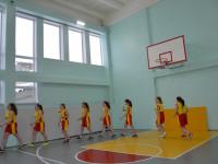 В Гаютинской средней школе после ремонта открылся обновленный спортивный зал