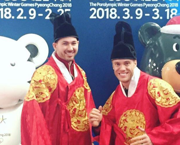 Хоккеисты «Локомотива» на Олимпиаде: фото