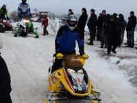 «Зимние забавы» в Угличе: Гонки на снегоходах и на собачьих упряжках