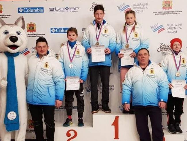 Ярославцы удачно выступили на Первенстве России среди юношей и девушек по фристайлу