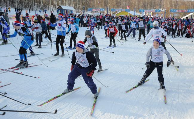 Более 300 детей приняли участие в лыжном фестивале
