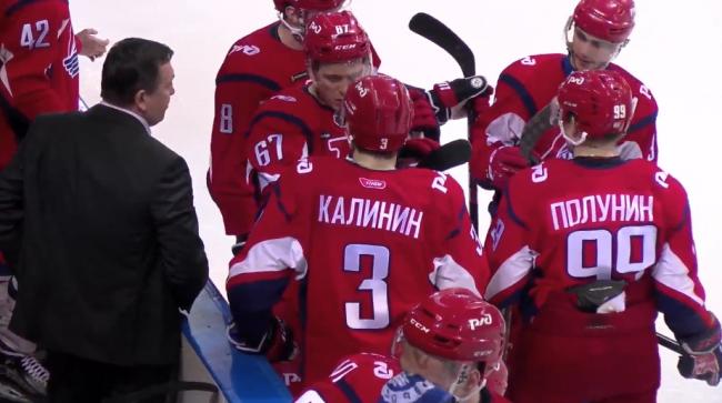 «Локо» одолел «Русских Витязей» во втором матче плей-офф