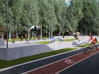 Проекты парков, спортивных площадок и объектов города покажут на выставке в КЗЦ