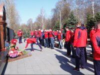 В Ярославле Сборная России почтила память игроков «Локомотива»