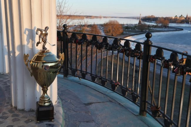 Кубок Харламова прибыл в Ярославль