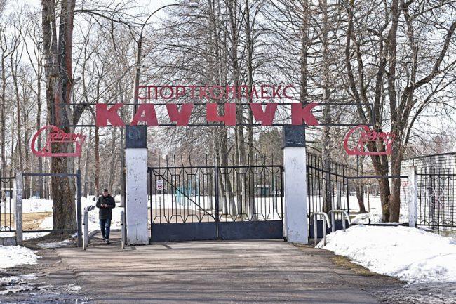 На стадионе «Каучук» появится современное футбольное поле