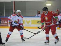 Дмитрий Миронов вышел на лед против команды президента Белоруссии