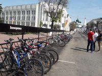 Сотрудники мэрии Ярославля пересели на велосипеды