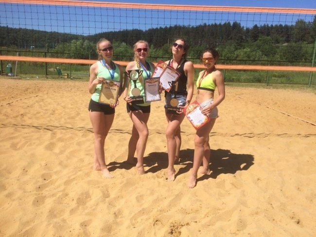 Ярославские пляжные волейболистки удачно выступили на Первенстве ЦФО