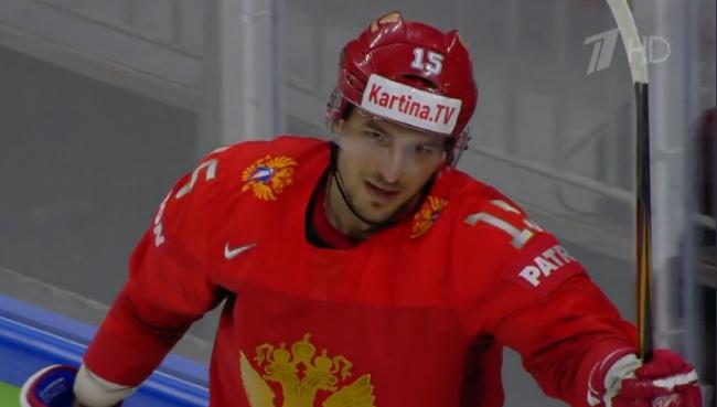 Артем Анисимов отдал две голевые передачи в матче со Швейцарией