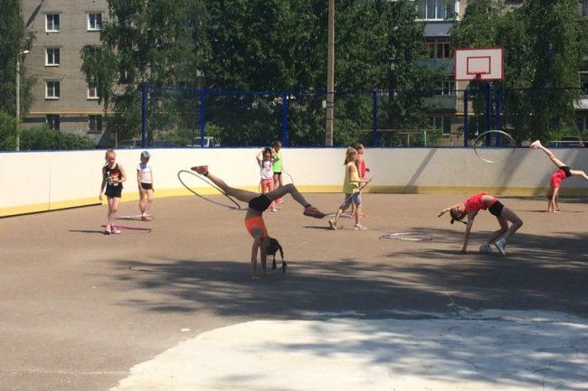 Сюжет о благоустройстве хоккейного корта «Молния» покажут в Совете Федерации