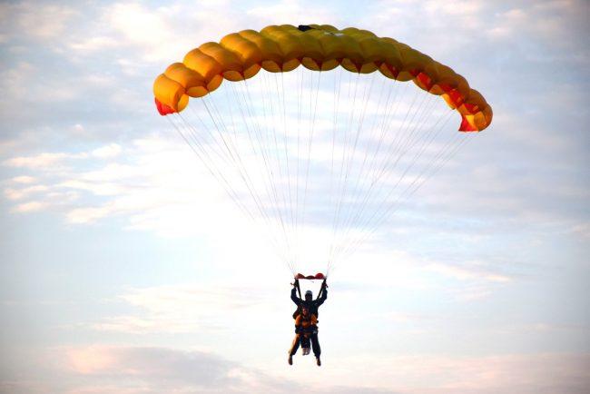 В Рыбинске начался ежегодный Кубок России по парашютному спорту