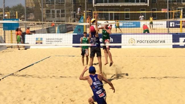 Ярославцы выступают в финале Первенства России по пляжному волейболу среди юношей до 19 лет