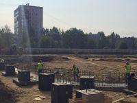 К концу года должен появиться каркас фока в Дзержинском районе