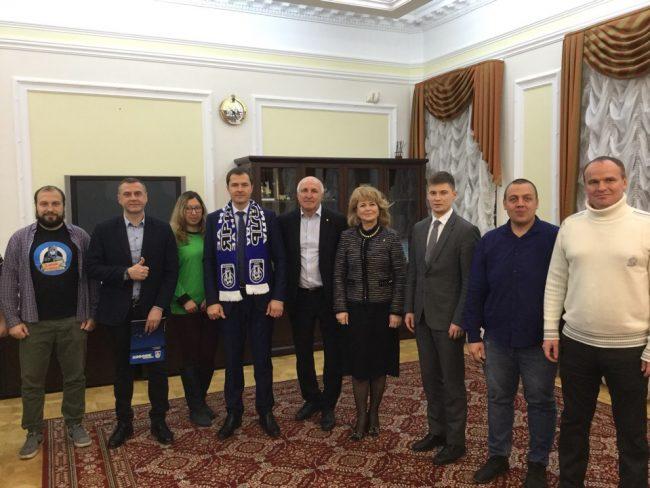 Гендиректор «Шинника» встретился с и.о мэра Ярославля: какие итоги