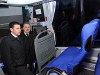 Дмитрий Миронов передал «Ярославичу» новый комфортабельный автобус