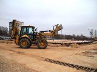 Земляные и фундаментные работы ФОКа в Брагино завершены