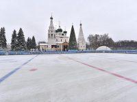 Каток на Советской площади можно будет посещать всю масленичную неделю