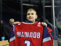 «Подари мечту»: 10-летний Глеб Шашлов вышел на тренировку с «Локомотивом»