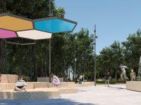 В Юбилейном парке Ярославля оборудуют беговые дорожки и скейт-парк