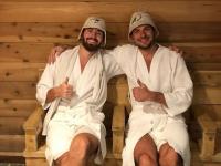 Российский хоккеист в США дорвался до русской бани