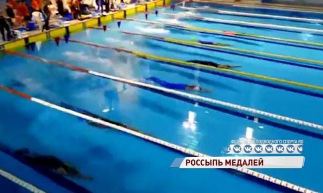 Ярославские пловцы в ластах стали третьими на Кубке России