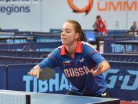 Анастасия Буркова — победительница Национального чемпионата по настольному теннису в Финляндии