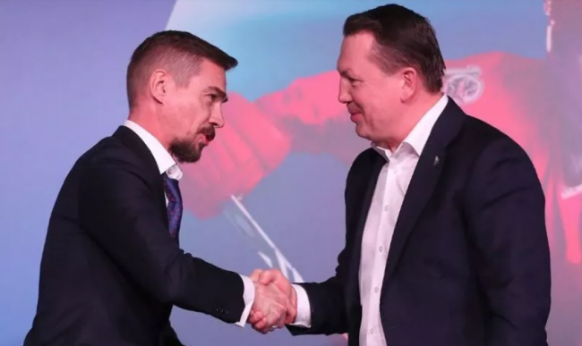 Дмитрия Красоткина в третий раз наградили как лучшего тренера МХЛ