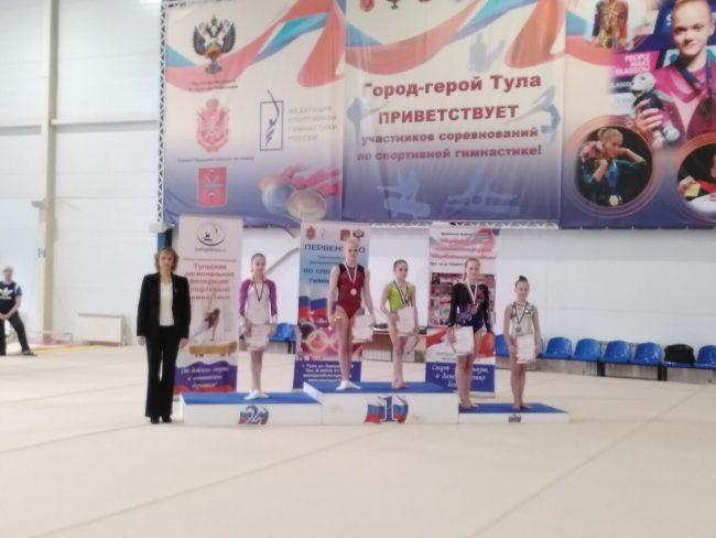 Ярославские спортсменки успешно выступили в Туле на Первенстве ЦФО по спортивной гимнастике