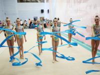 На международный турнир по художественной гимнастике в Ярославль приехали спортсменки из 15 стран
