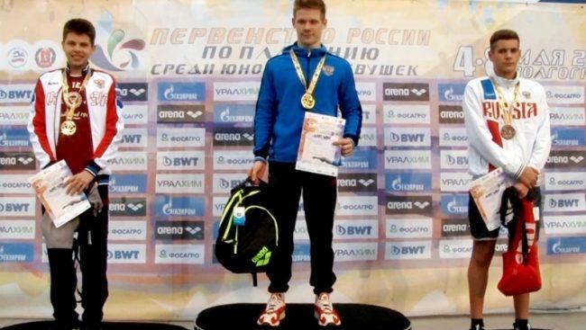 Рыбинский пловец Александр Степанов удачно выступил на первенстве России по плаванию