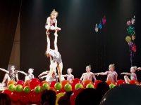 В Ярославле выступили акробаты и гимнастки