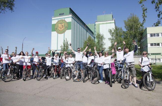 В День города в Ярославле прошел велопробег