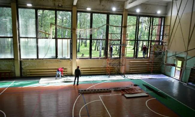 К концу июля в Ярославле отремонтируют универсальный спорткомплекс