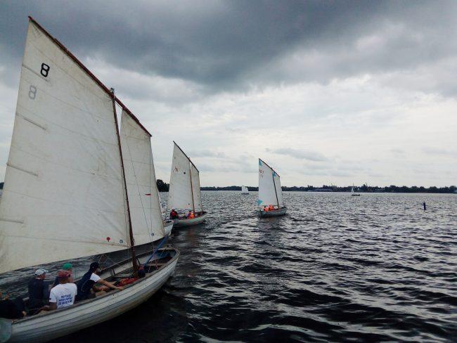 Ярославцы завоевали серебро по морскому многоборью в дисциплине парусная гонка