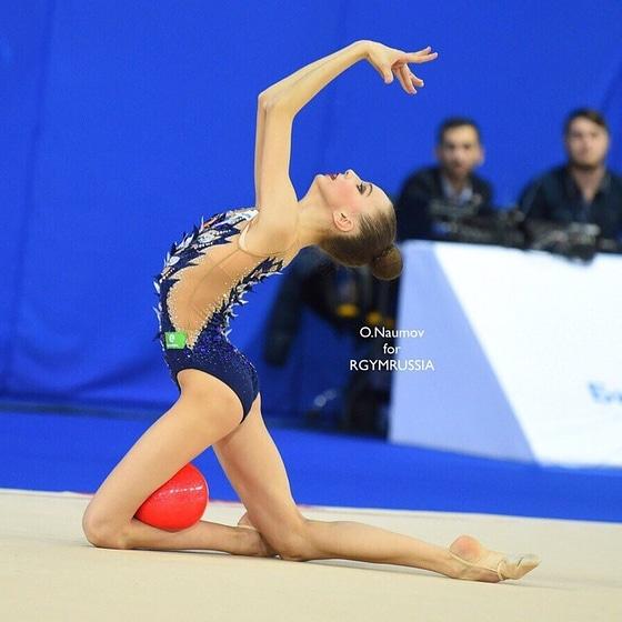 Ярославна заняла пятое место на Чемпионате России по художественной гимнастике